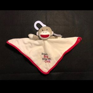 Other - Sock monkey security blanket